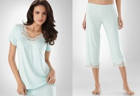 Soma Intimates Pajama Top--$39, Bottoms--$39