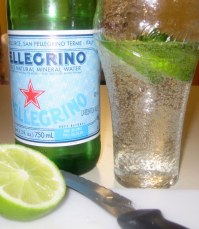 Making Pellegrino with Lime
