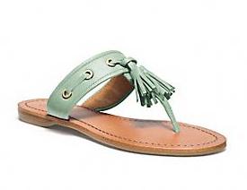 sheena tassle sandal$148.00