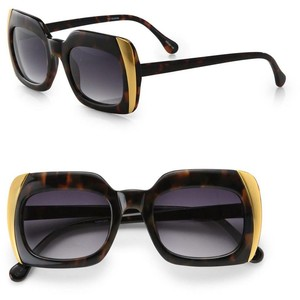 Elizabeth and James Dearborn Square Sunglasses--$225