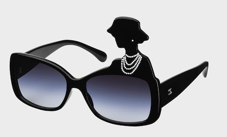 Chanel Sunglasses with Coco Chanel Silhouette-- See Chanel boutique for prices